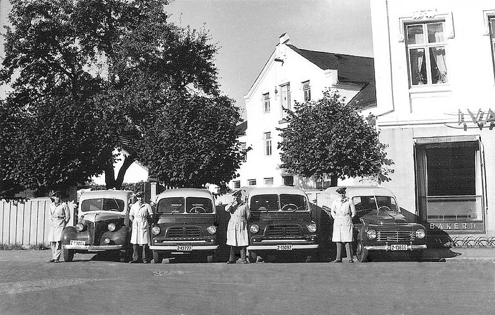 Bilde av Brød- og kakebiler hos Ivar Halvorsen A/S