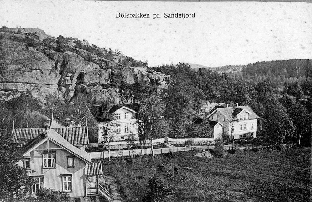 Bilde av To sveitserhus som fortsatt finnes