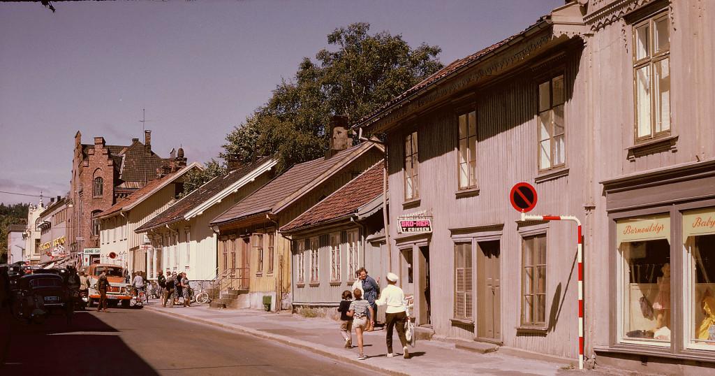 Bilde av Gammel bebyggelse Dronningensgate 5