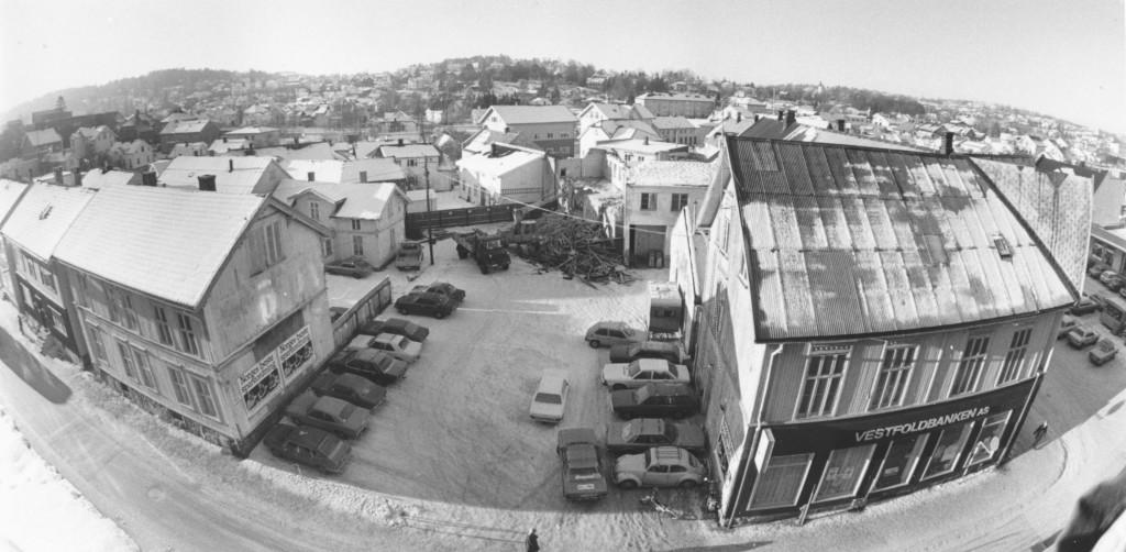 Bilde av Før bygging - Dronningens gate 6