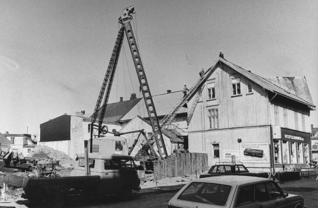 Bilde av Bygging Dronningens gate 6
