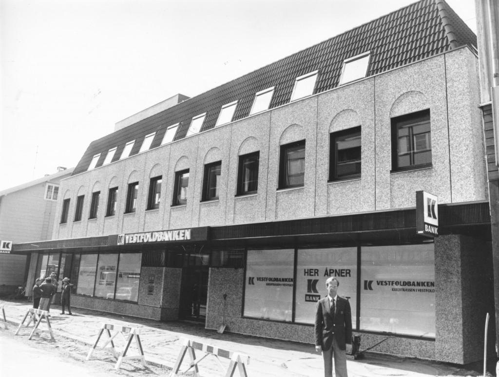 Bilde av Innflytting Vestfoldbanken
