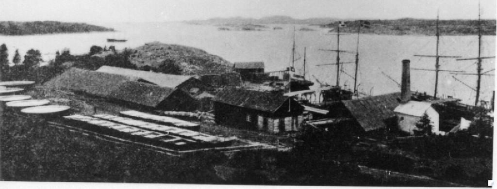 Bilde av Framnesveien - trankokeriet i Gonvika