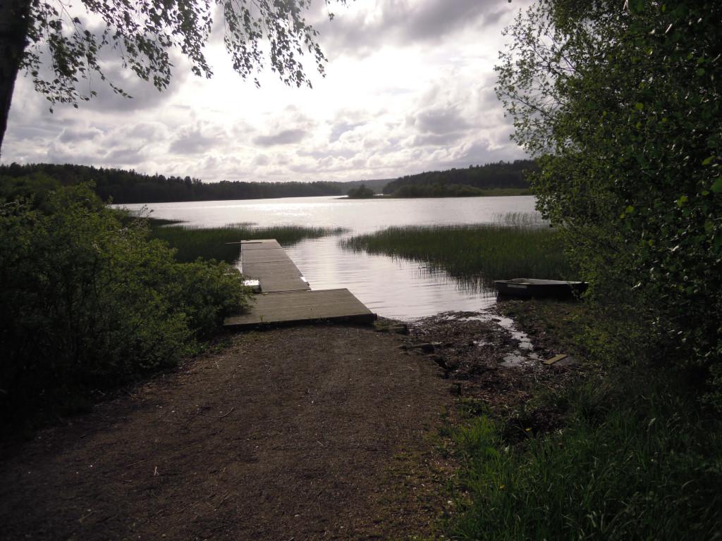 Bilde av Goksjø. Eftermiddag ved Lastelandet.