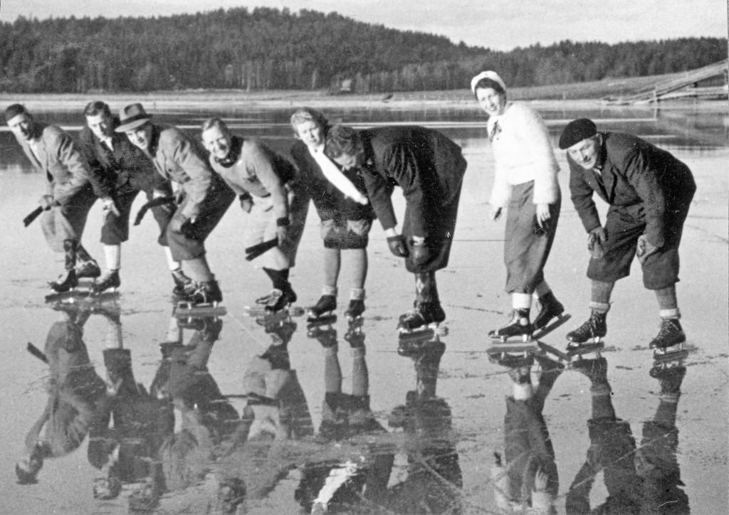 Bilde av Goksjø - Søndagstur på-isen.