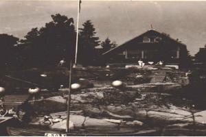 Bilde av Granholmsundet og øyene utenfor