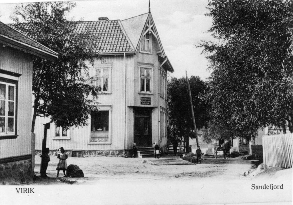 Bilde av Krysset Haneholmveien/Kjellbergveien.