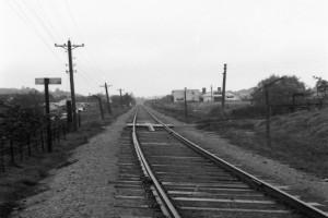 Bilde av Planovergang i bunn av Haslebakken