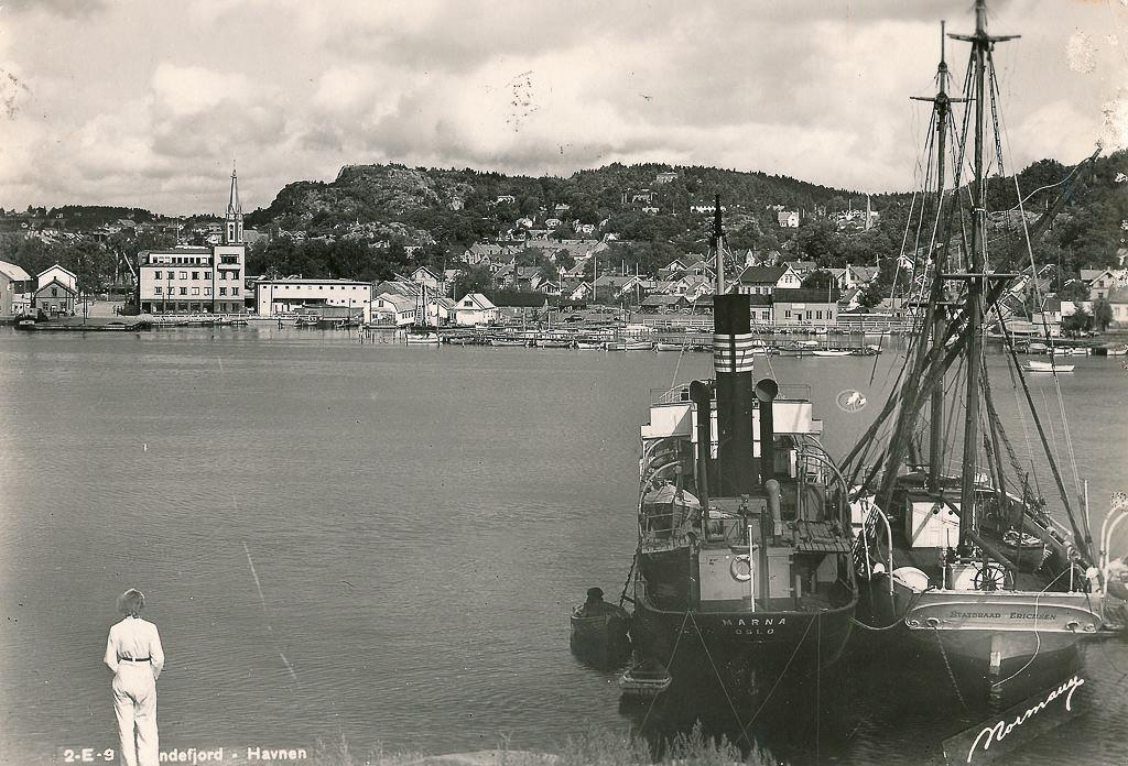 Bilde av Postkort fra indre havn