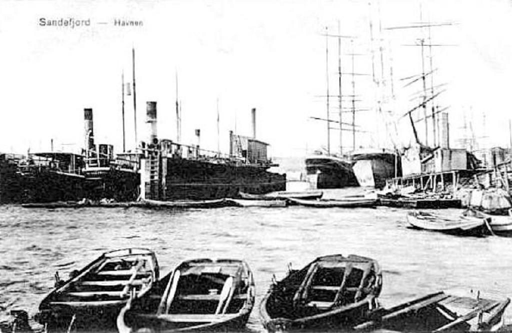 Bilde av Indre Havn ca 1908