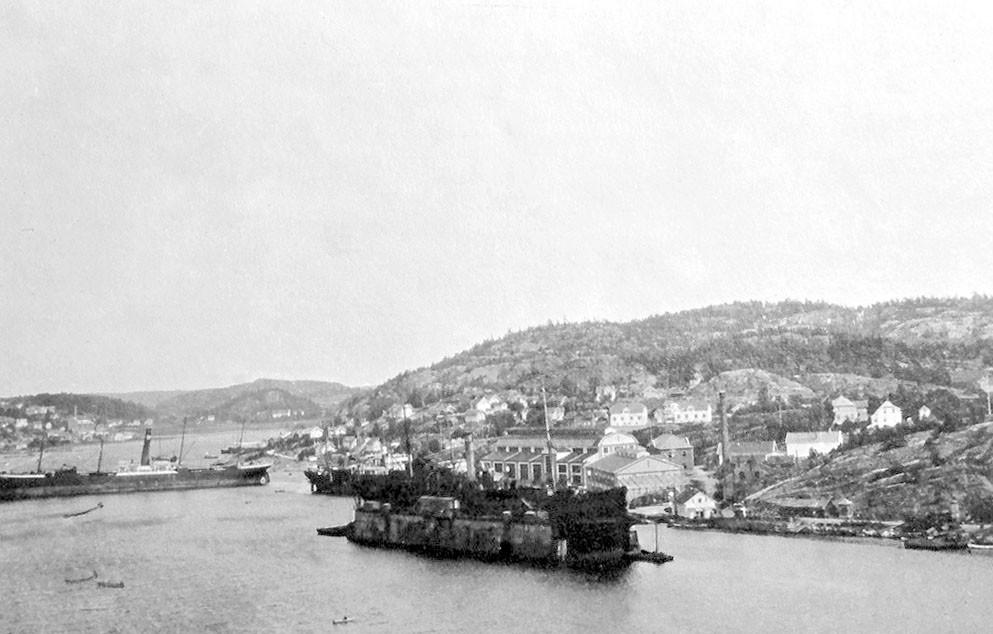 Bilde av Utenfor Framnes 1917