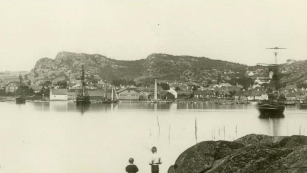 Bilde av Havnebilde fra 1864