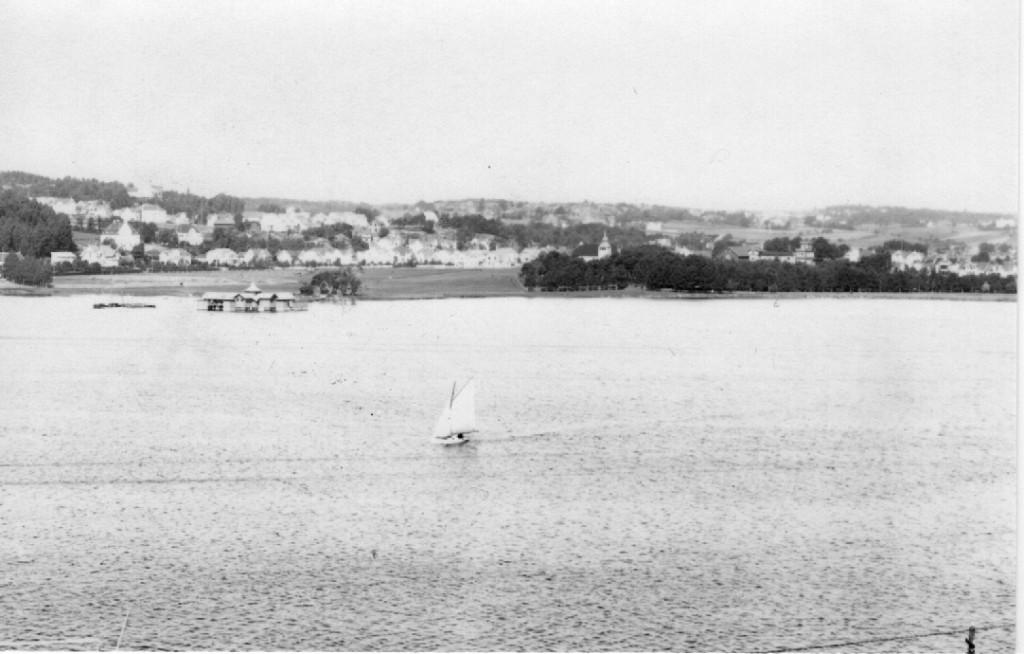 Bilde av Indre havn i Sandefjord