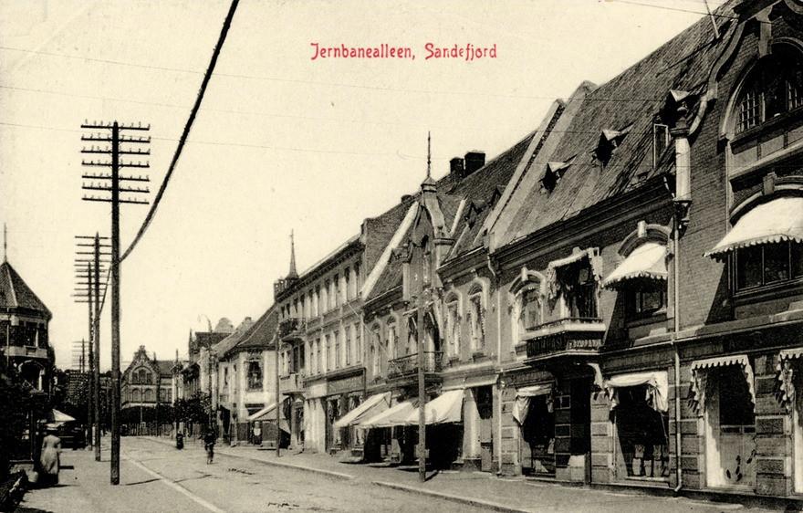 Bilde av Jernbanealleen 23, Ertzhusgården