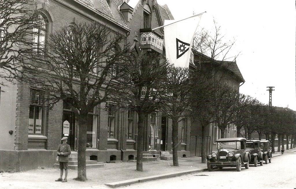 Bilde av Jernbanealleen 32, en flott jugendbygning
