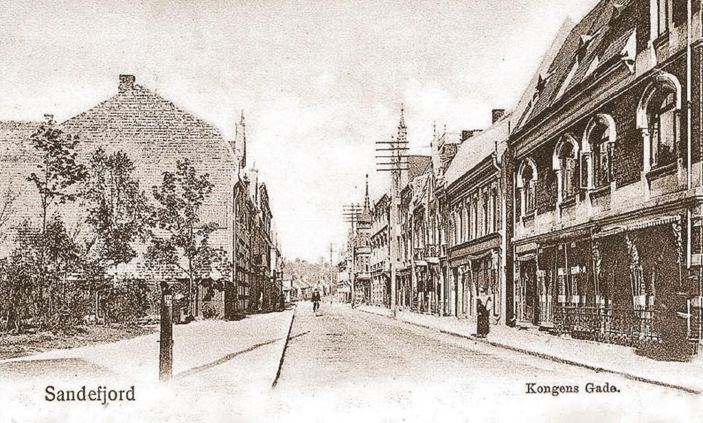 Bilde av Byparken og Kongens gate 5