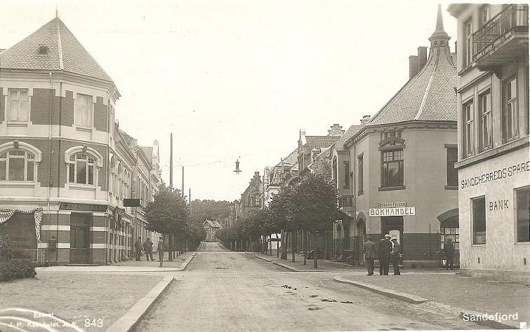 Bilde av Vestover  med Kongens gate 5