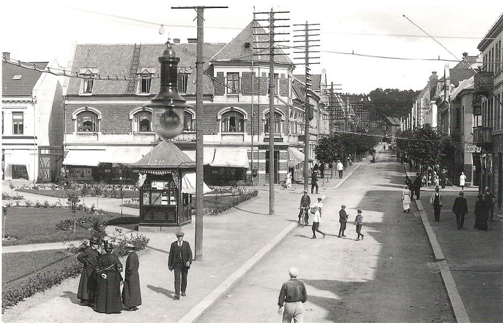 Bilde av Kongens gate 5 og Jernbanealleen