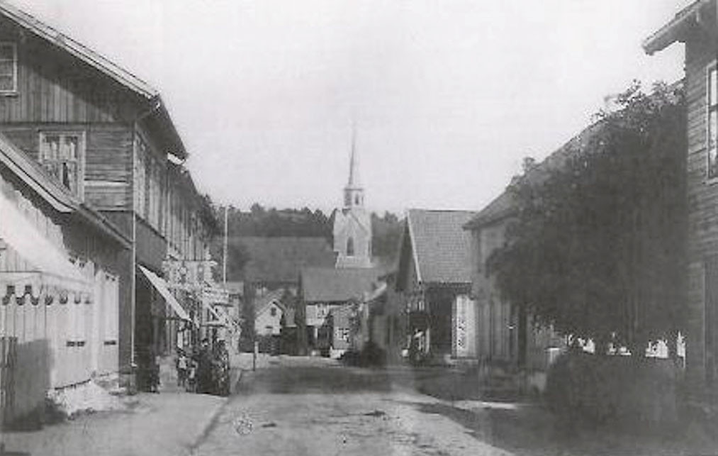 Bilde av Langgaden øst