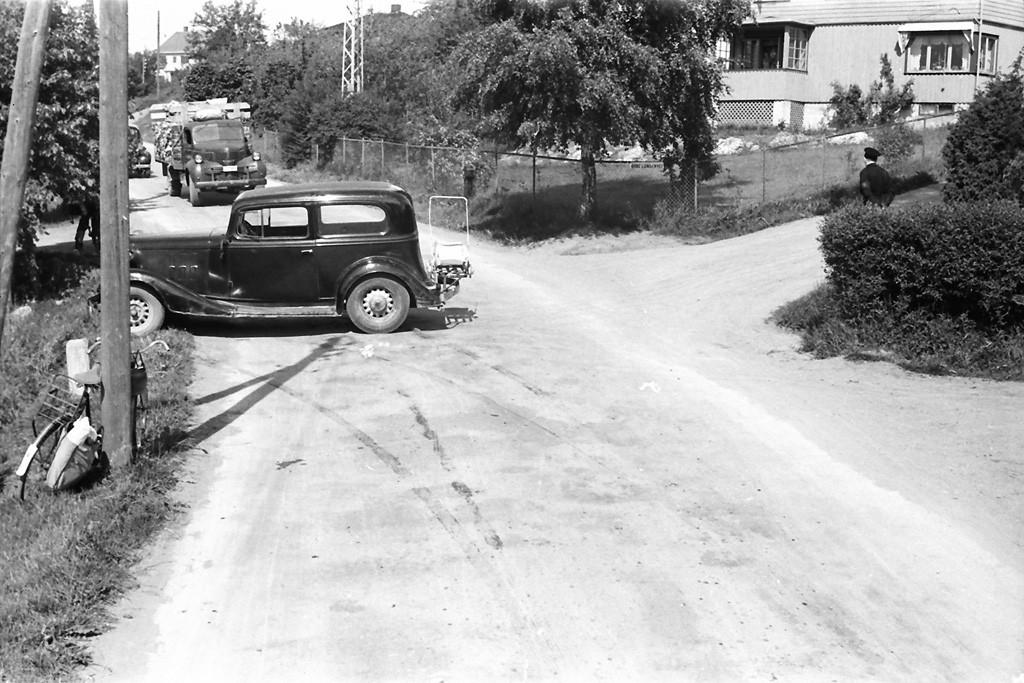 Bilde av Trafikkuhell/Øvre Lundenvei 2
