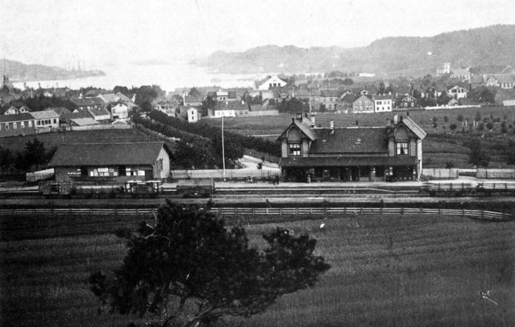 Bilde av Jernbanestasjonen/Peter Castbergs gate 7