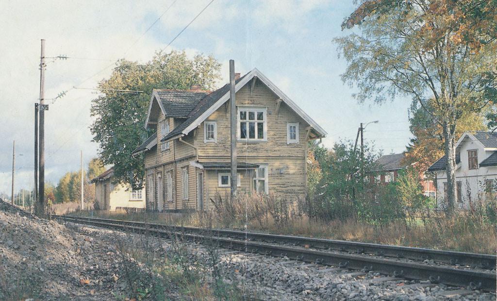 Bilde av Råstad stasjon/Råstadveien 204