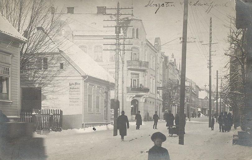 Bilde av Fossgården    Storgata 8