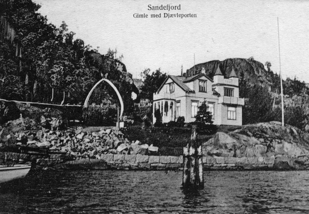 Bilde av Hystadveien 167  -  Djævelporten Gimle  -  Jotun