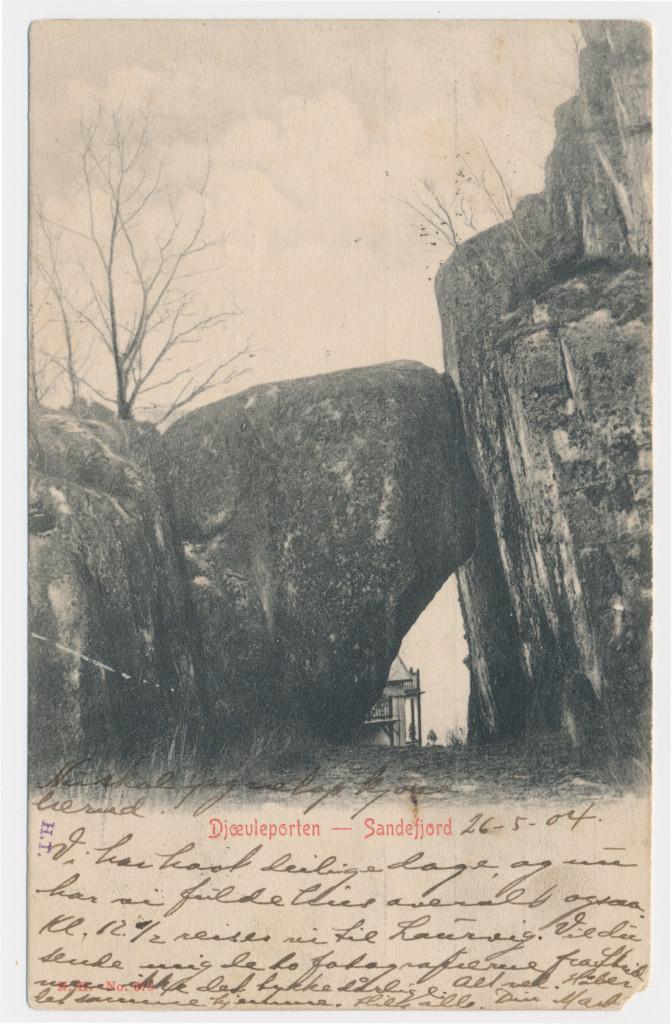 Bilde av Hystadveien - 167  -  Djævelporten  Gimle  - Jotun