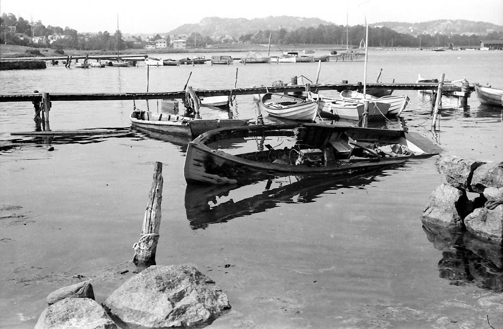 Bilde av Båtbrann på Stub