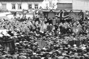 Bilde av Fredsdagene på Torget i mai 1945
