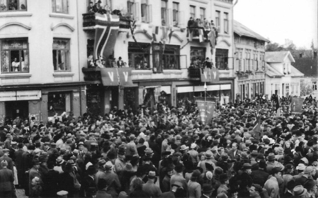Bilde av Fredsdagene 1945