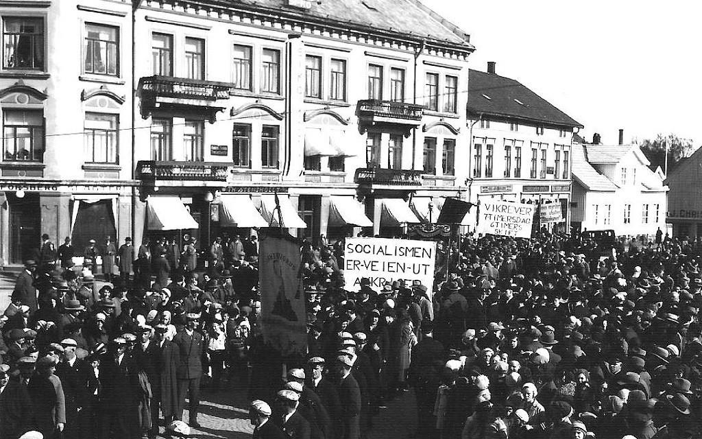 Bilde av Markering av 1. mai på Torget