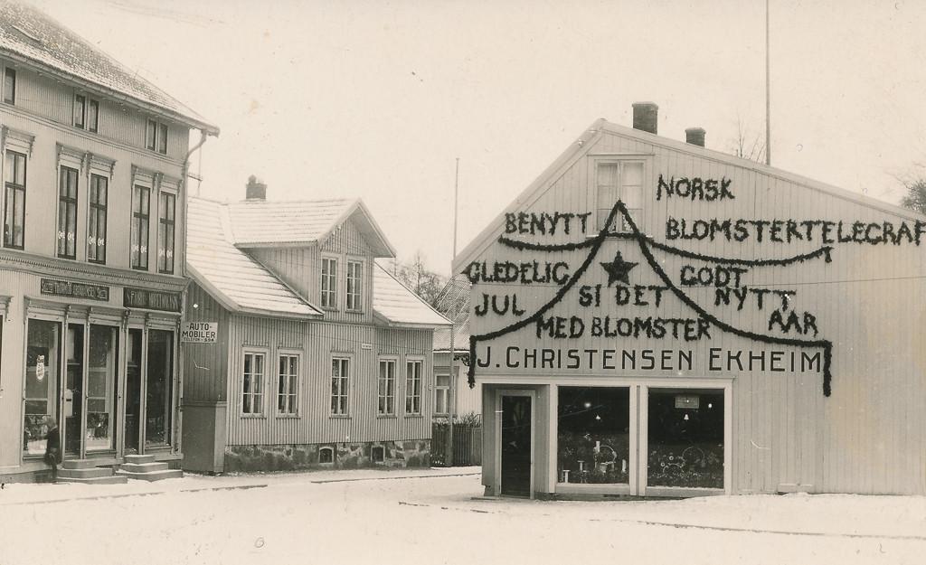 Bilde av Gamle Torget i Sandefjord