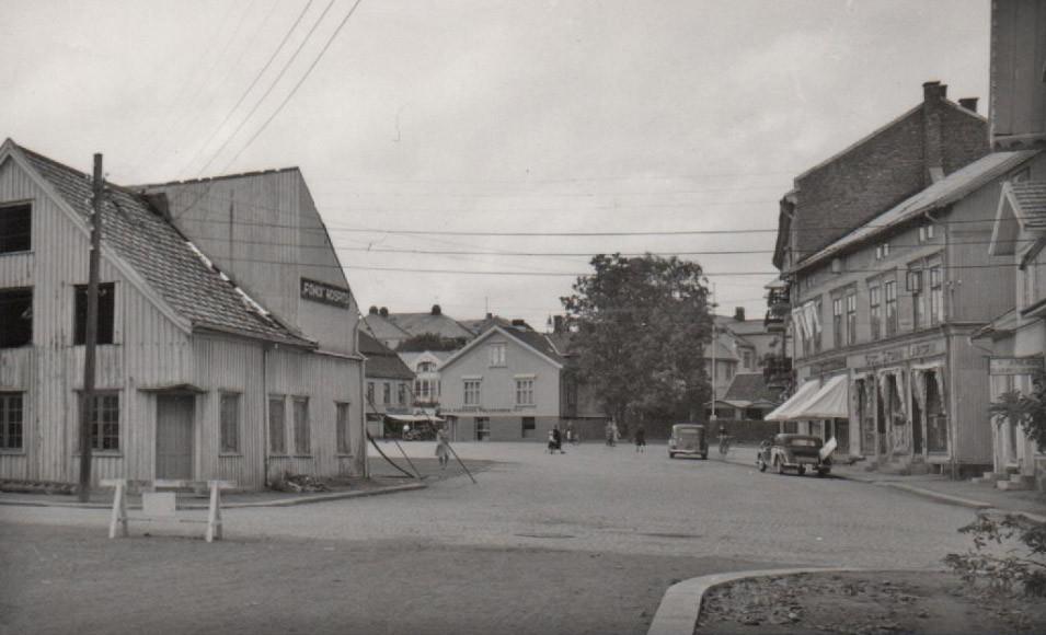 Bilde av Det gamle torget i Sandefjord