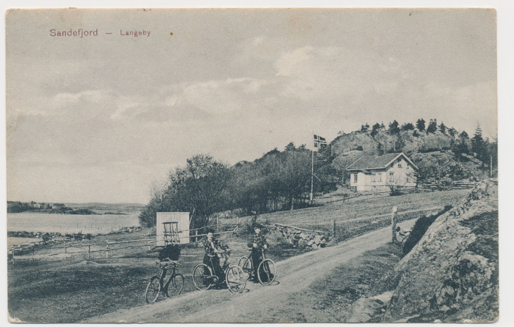 Bilde av Bakken ned mot Langeby/Vesterøyveien 337
