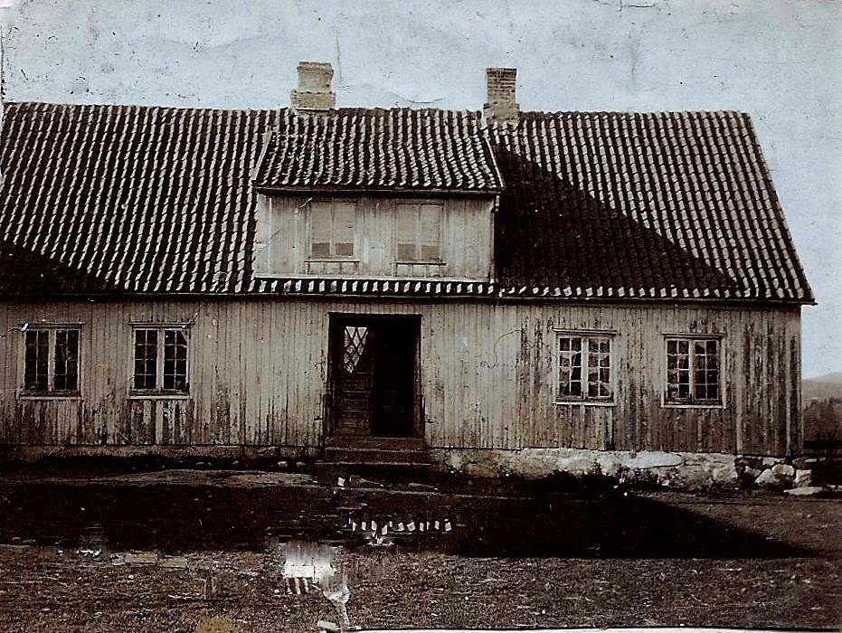 Bilde av Haughem  rundt 1890