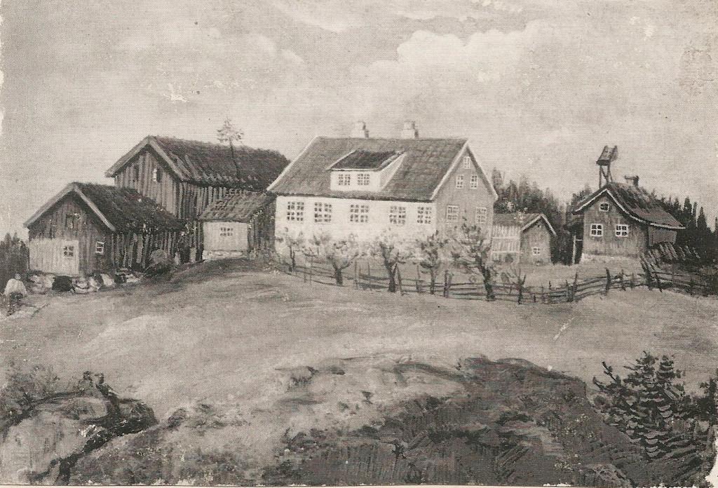 Bilde av HAUGHEM rundt år 1840