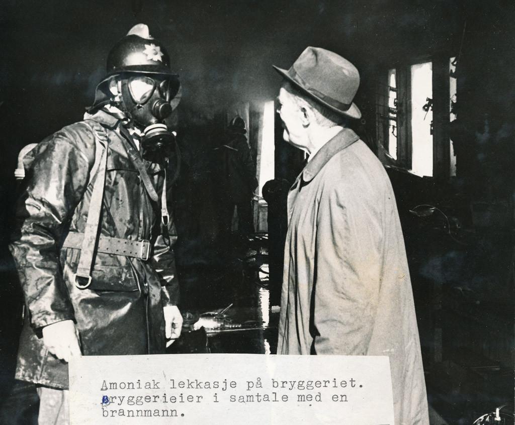 Bilde av Amoniakklekkasje Bryggeriet