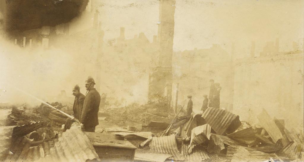 Bilde av Bybrann 1915