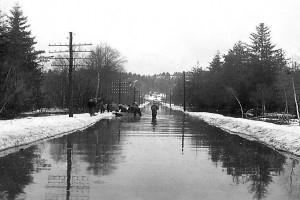 Bilde av Oversvømmelse ved Goksjø