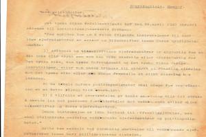 Bilde av Div. dokumenter fra tyskerne under krigen