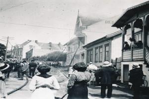 Bilde av Brann i 1913