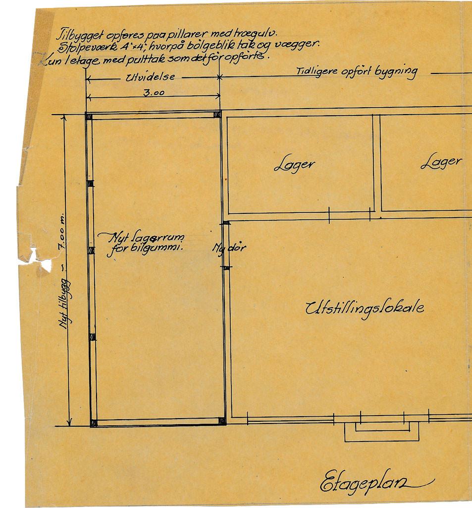 Bilde av Tegning - 1925