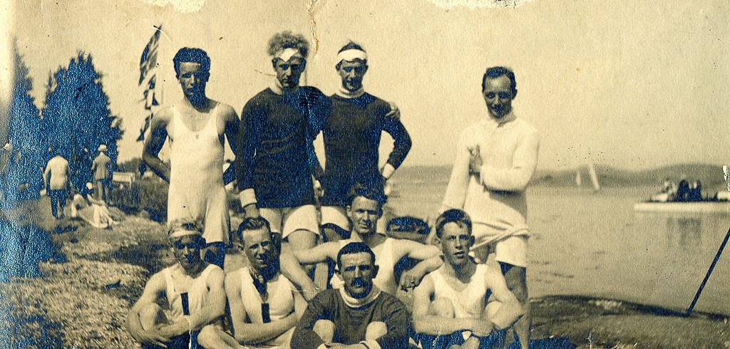 Bilde av Junior- og begynnerlag i 1923.