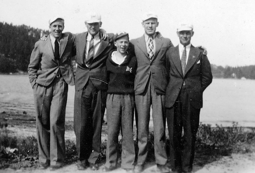 Bilde av Kjørbobanen 27.6.1934.