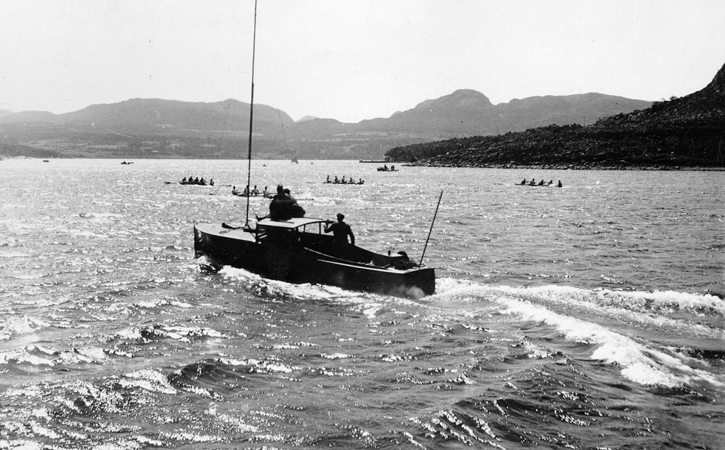 Bilde av Hommersåkbanen 8.7.1934