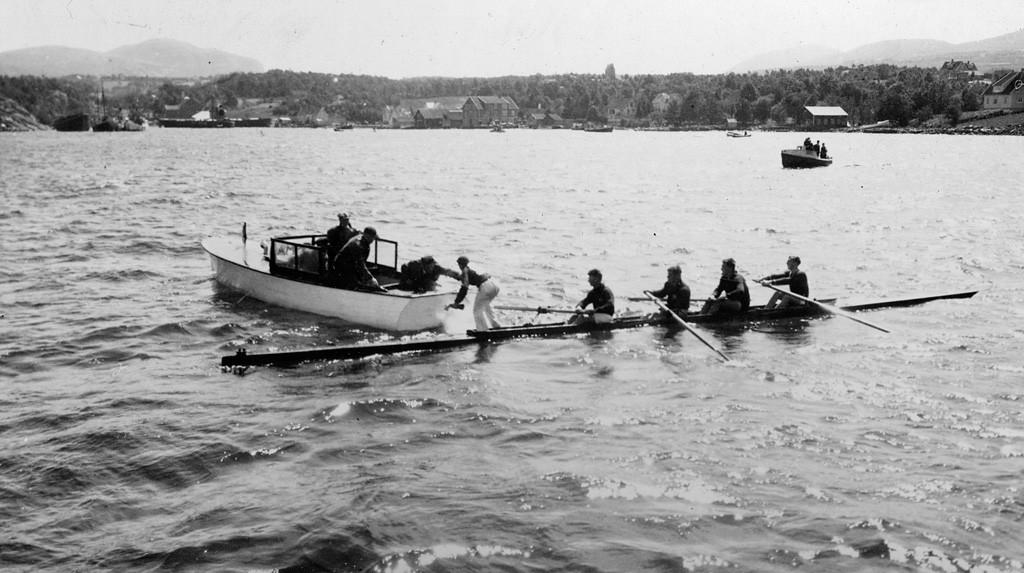 Bilde av Hommersåkbanen 8.7.1934.