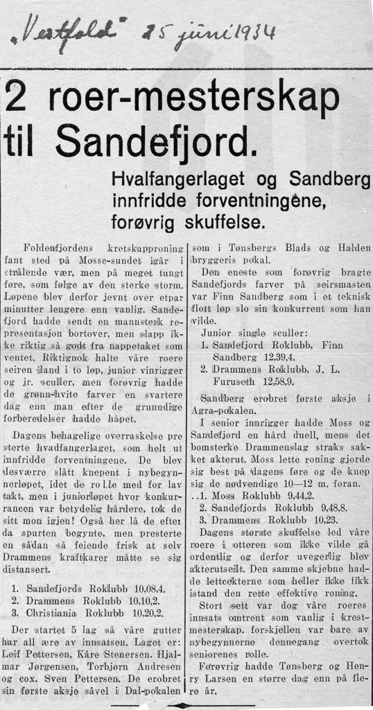 Bilde av Vestfold 25. juni 1934
