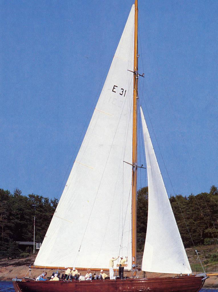 Bilde av Seilbåten Storm